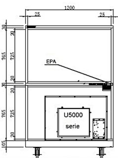 HSDF feeder cabinet technical drawings