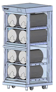 MSD modular dry cabinets