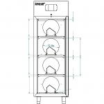 Reel in cabinet XSDB 701-52