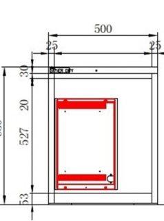 SDB-151 Technische Zeichnungen