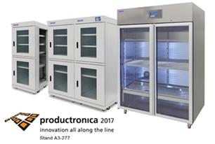 Trockenschränke bei Productronica