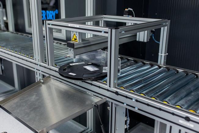 Dry Tower - vollautomatisches System zur Trocknung und Lagerung