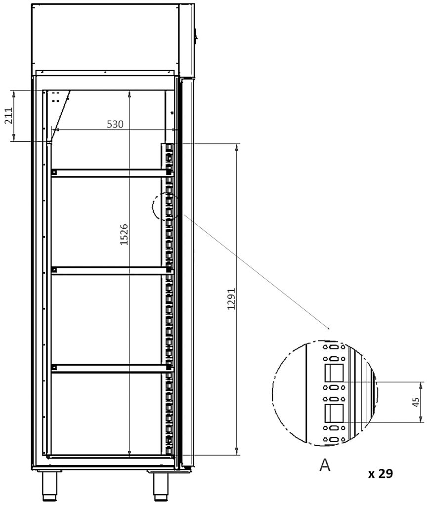 XSDC 601-01 technical drawing