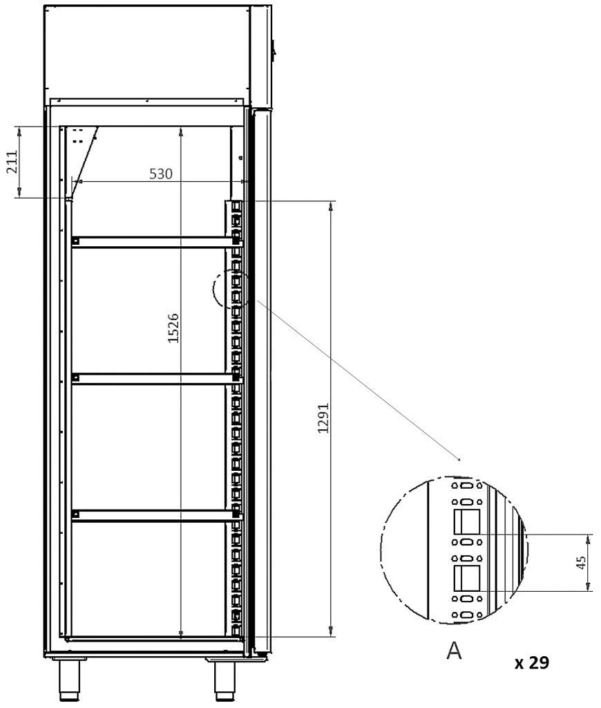 XSDC 601-01 Trockenschrank