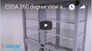 ESDA serie trockenlagerschrank - zum video