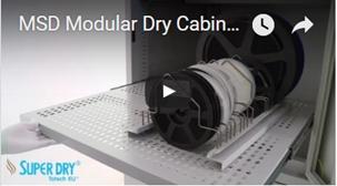 Trockenschränke MSD Serie- zum video