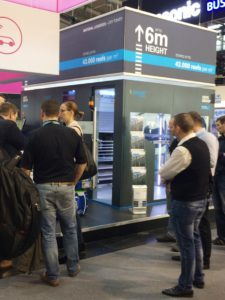 Dry Tower bei Productronica