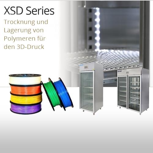 Trocknung und Lagerung von 3D-Druckpolymeren