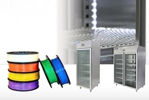 Trocknung und Lagerung von Polymeren für den 3D-Druck