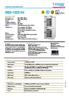 Trockenlagerschrank MSD 1222-54