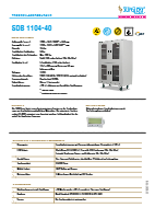 Trockenlagerschrank SDB 1104-40
