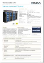 Datenblatt Trockenschränke XSD 1412-55