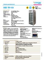 Trockenlagerschrank XSD 701-54