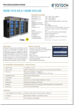 Datenblatt Trockenschränke XSDB 1412