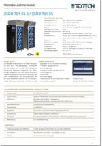 Trockenschränke XSDB 701-55 DE